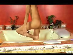 Masturbation sexy, Masturbate sexy, Lily, In bath, Bathing, Bath