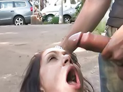 Public facial, Facial public, Celebrity blowjob