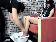 Tortures, Torture, Ice, Feet torture, Bdsm torture, Foot tortured