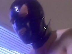 Milf bdsm, Mask, Masked milf, Leather fuck, Leather, Fucked guy