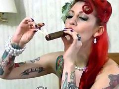 Vintages, Vintage ขืนใจ, Vintage smoking, Vintage, Redhead masturbation, Redhead masturbate