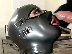 Mask blowjob, Mask, Latex c, Latex