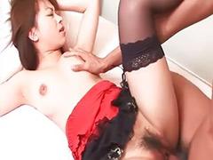 Asian banged