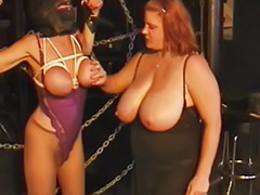 Tit spank, Redhead bbw, Spanking bbw, Spank chubby, Mistress lesbian, Lingerie spank