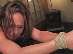 Tits bondage, Tit spank, Tit bondage, Spanking stockings, Sex by stocking, Deepthroat bondage
