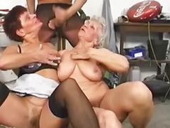 Grannies threesome, Grannies blowjob, Granny threesomes, Granny threesome, Granny threesom, Granny stockings