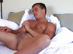Seriousness, Its solo, Hot gay solo, Stroking cock