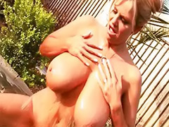 Wife gets fucked, Jacuzzy, Jacuzzi, Busty wife, Wife