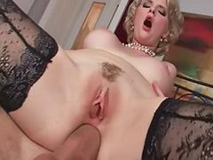 White pantyhose, Pantyhose cock, Pantyhose cum, Pantyhose anal, Licking pantyhose, Big white tits