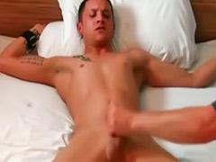 Handjob and cum, Bondage handjob, Cock bondage, Bondage gay