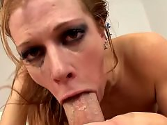 Throatted, Throated, Throat blowjob, Redhead blowjob, Red t, Red head