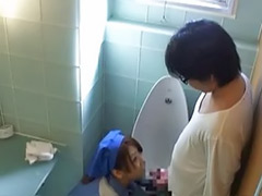 Toilet sex, Toilet blowjob, Public toilet sex, Public asian, Asian toilet, Asian public