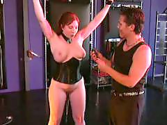 X-mastere, Tits bondage, Tit bondage, Redhead bdsm, Bdsm big tits, Bdsm tits