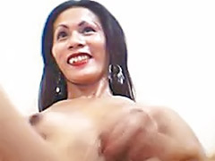 Asian and black cock, Stripping and masturbating, Strip wank, Strip and masturbation, Shemale ladyboy, Shemale black cock