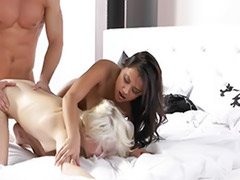 Kiss fuck, Friends masturbating, Friend threesome, Doggystyle, Double vagina, Best kiss
