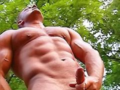 쑈, 근육 게이 야외, 근육자위, 근육인, 근육섹스