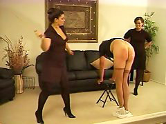 Lady b, Ladie, Caned, Lady, Caning, Cane