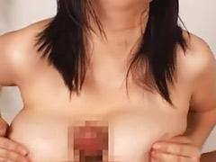 Japanese titfuck, Asian titfuck, Aoki rin, Aoki, Rin aoki