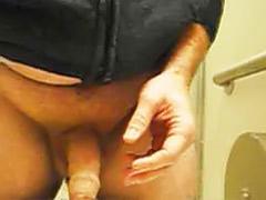 Jack off, Bathroom handjob