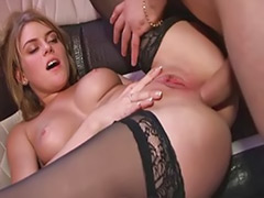 Us sex, Stockings riding, B us, Car stockings, Car anal