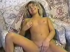 Young girl solo masturbation, Student girl