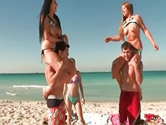 Teen striptease, Public solo, Public beach, Striptease teen, Springs, Spring