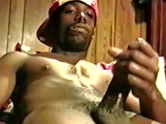 Wank with cum, Wank with, Play gay, Play dick, His dick, Cum play