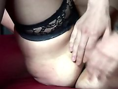 While, Real hooker, Lingerie blowjob, Lingerie, Hookers, Fingers sucking