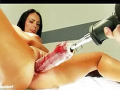 Huge tits solo masturbation, Huge tits fucked