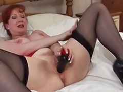 Mature redhead masturbation, Don t, Don