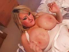 Tit bukkake, Shot mouth, Into cum, Facial mouth, Gangbang big tits, Big tits mouthful