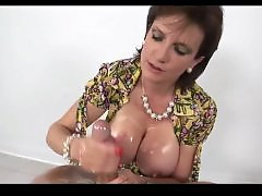 Oiling, Oiled, Oil handjob, Oiled handjob, Oil, British handjob