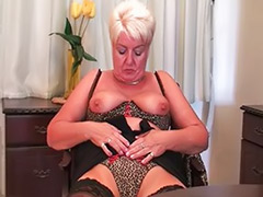 Stockings dildo, Stocking dildo, Solo in stockings, Solo granny dildo, Solo granny, Solo grannies