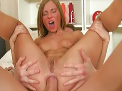 Teen rimming, Lupe anal, Burnette