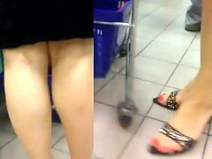 Voyeur feet, Pumps, Pumping, Pumped, Milfs feet, Milf, foot