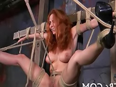 Suspending, Suspended, Bondage solo, Bondag solo, Air girls, Bondage girls