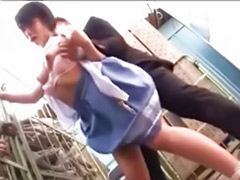 Couple fucked by