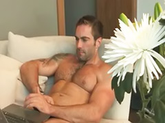 Jake b, Hairy wank, Gay hairy solo