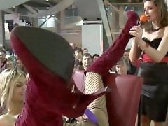 Rubias peludas, Dildo public, Nenas tetonas