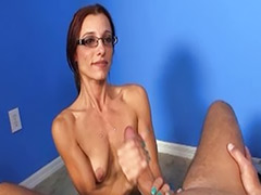 Milf jerks, Milf handjobs, Handjob milf, Handjob glasses, Hot husband, Glasses milf