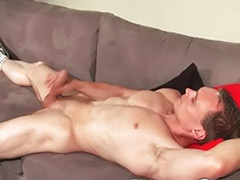 Muscle handjob, Solo muscle, Muscle guy