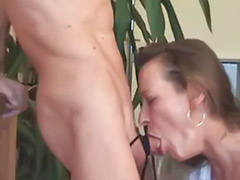 Wife face, Wife deepthroat, Wife boots, Milf gagging, Milf boots, Lingerie wife