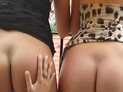 Teen funs, Striptease lesbians, Lesbians behind the scenes, Lesbian striptease, Horny kissing, Fun kiss