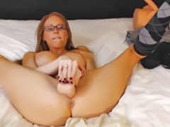 Busty blond fucked