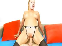 Mature stockings fuck