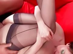 Mature stockings fuck