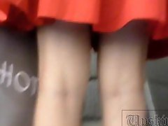 Very thin girl, Thongs, Thong, Thin girl, Successively, Video