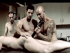 Tattoo gay, Tattoo anal, Toy squirt, Toy gay, Squirting anal, Squirt group
