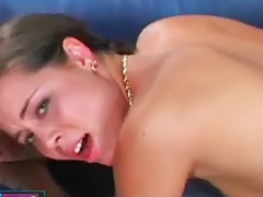 Teen as, Bangs her hard