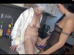 Lesbian kitchen, Lesbian in kitchen, In kitchen, Kitchen, Kitchen mature, Kitchen lesbian